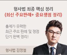 형사법 김정철 파이널