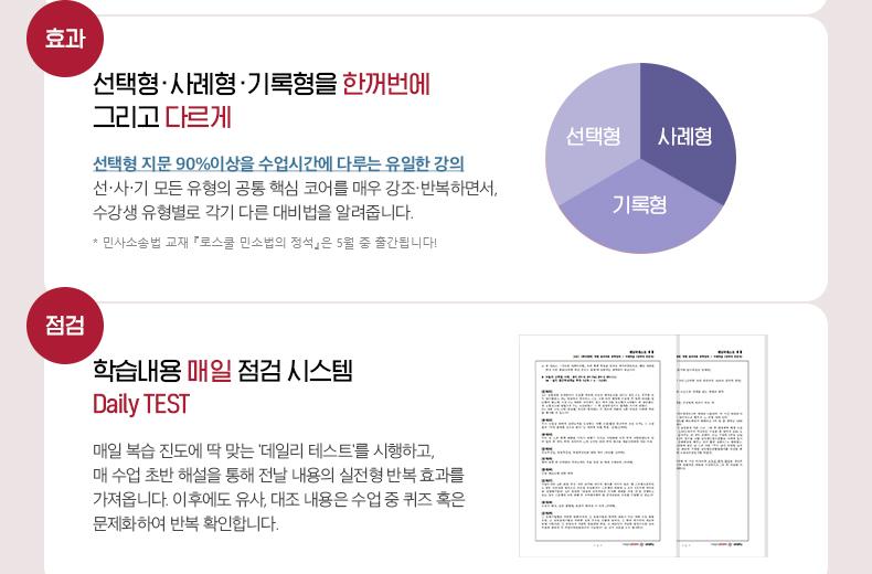 선사기 민사법 완벽정리+실전연습 고효율 강의 프로세스 2